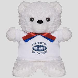 Funny 50th Anniversary Teddy Bear