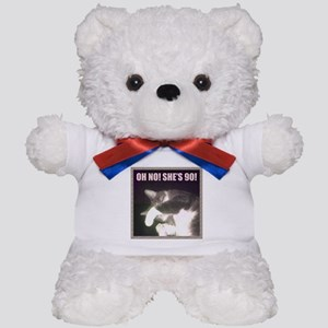 Funny 90th Birthday (Cat) Teddy Bear