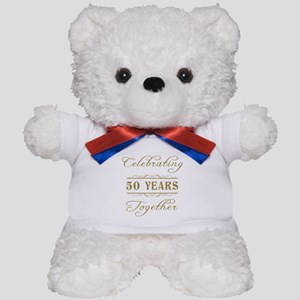 Celebrating 50 Years Together Teddy Bear
