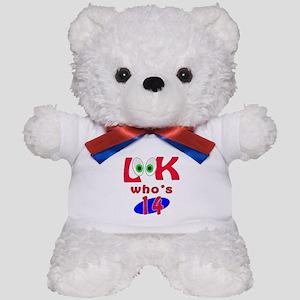 Look who's 14 ? Teddy Bear