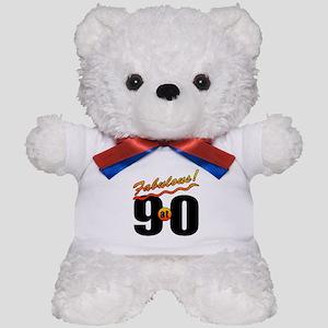 Fabulous At 90 Teddy Bear