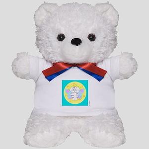 ITTY BITTY ANGEL KITTY (Yellow Orb Blue Box) Teddy