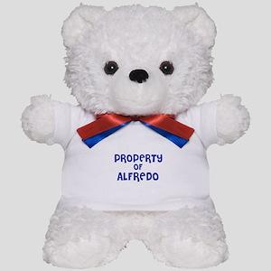 Property of Alfredo Teddy Bear