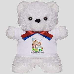 Cajun Chef Cat Teddy Bear