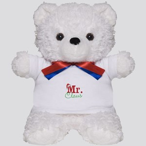 Christmas Mr Personalizable Teddy Bear