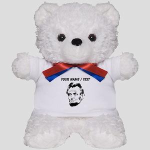 Custom Abraham Lincoln Teddy Bear