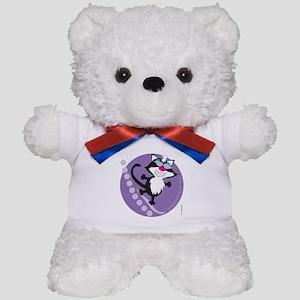 SNOW KITTY Teddy Bear