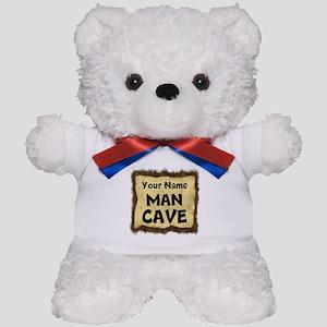 Custom Man Cave Teddy Bear