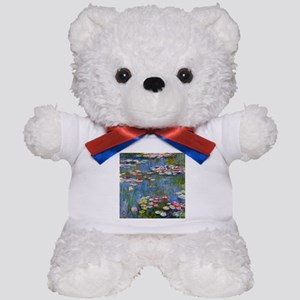 Monet Water lilies Teddy Bear