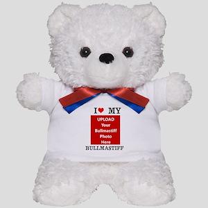 Bullmastiff-Love My Bullmastiff-Personalized Teddy