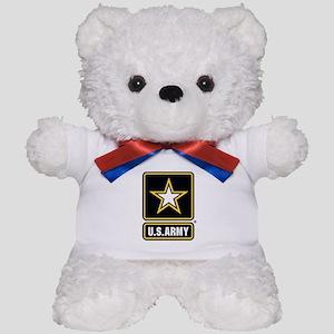 U.S. Army Gold Star Logo Teddy Bear
