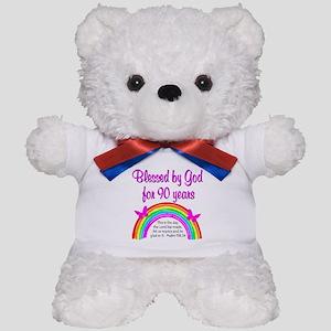 PRECIOUS 90TH Teddy Bear