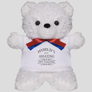 World's Most Amazing Art Teacher Teddy Bear