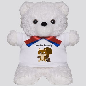 Squirrely Teddy Bear
