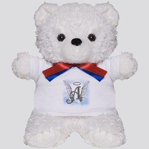 Letter A Monogram Teddy Bear