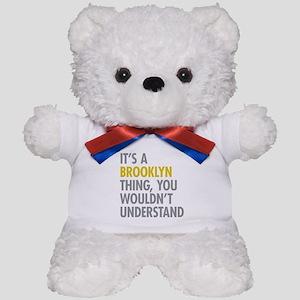 Brooklyn Thing Teddy Bear