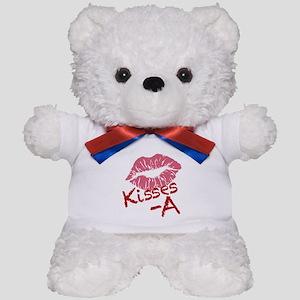 Kisses A Teddy Bear