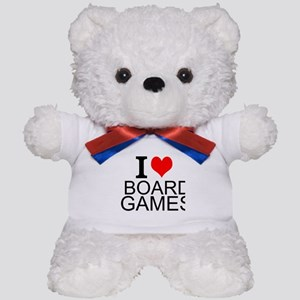 I Love Board Games Teddy Bear