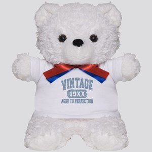 Personalize Vintage Aged To Perfection Teddy Bear