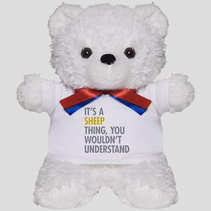 Its A Sheep Thing Teddy Bear