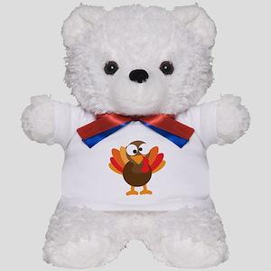 Funny Turkey Teddy Bear