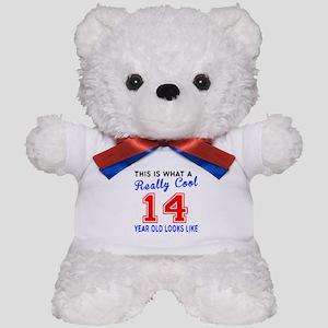 Really Cool 14 Birthday Designs Teddy Bear
