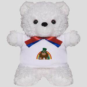 Bigfoot Leprechaun Teddy Bear