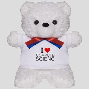 I Love Computer Science Teddy Bear