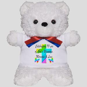 90 YR OLD BLESSING Teddy Bear