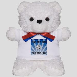 Personalized Soccer Teddy Bear