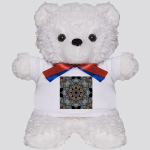 floral mandala hipster bohemian Teddy Bear