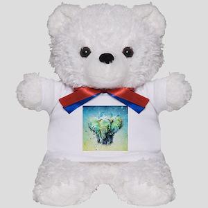 watercolor elephant Teddy Bear