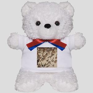 bohemian tribal southwestern cowhide Teddy Bear