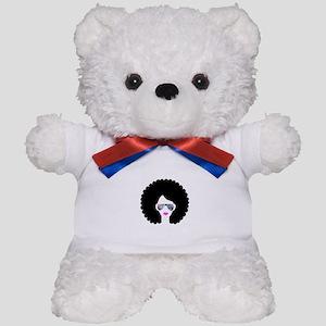 hologram afro girl Teddy Bear