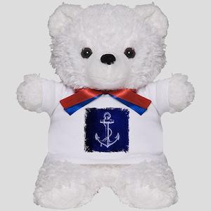 nautical navy blue anchor Teddy Bear