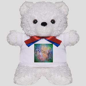 Abstract Music Teddy Bear