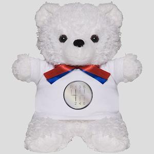 Six Speed Gear Knob Teddy Bear