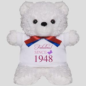 1948 Fabulous Birthday Teddy Bear