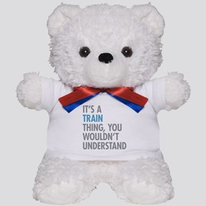 Train Thing Teddy Bear