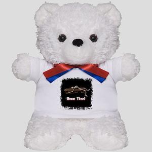 Bone Tired Skeleton Teddy Bear