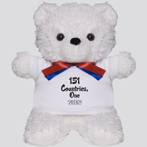 151 Countries, One Synergy. Teddy Bear