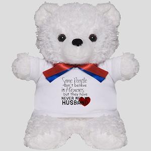 Husband hero Teddy Bear