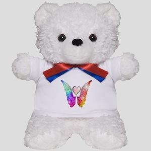 Angel Wings Heart Teddy Bear