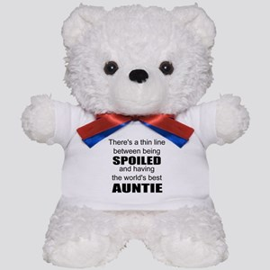 Funny auntie Teddy Bear