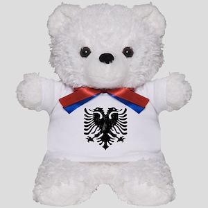albania_eagle_distressed Teddy Bear