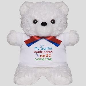 My Auntie made a wish Teddy Bear