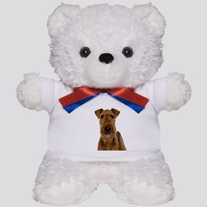 Airedale Painted Teddy Bear
