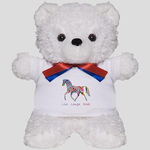 Rainbow horse gift Teddy Bear