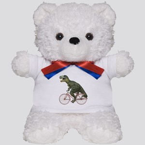 Cycling Tyrannosaurus Rex Teddy Bear