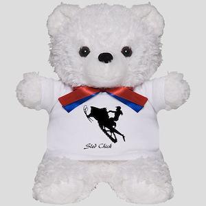 Sled Chick Teddy Bear